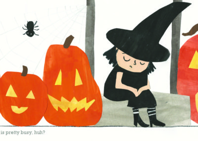 spread from MATILDA, THE LITTLEST WITCH
