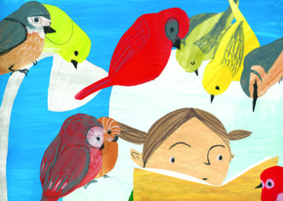 The Birds Loved Stories